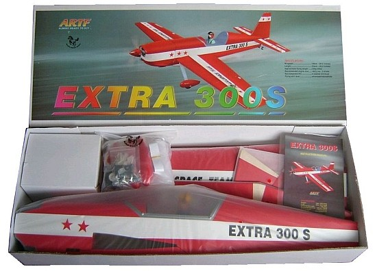 Black Horse Model Airplanes - ARF Scale - Extra 300S