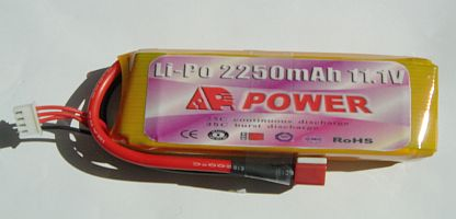 AP-Power Lipo Battery 25-C